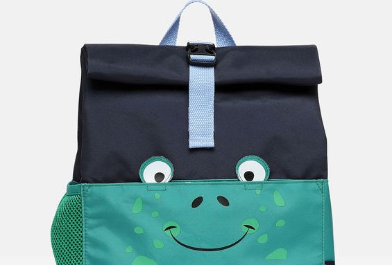 Joules Rolly Roll Top Back Pack Frog
