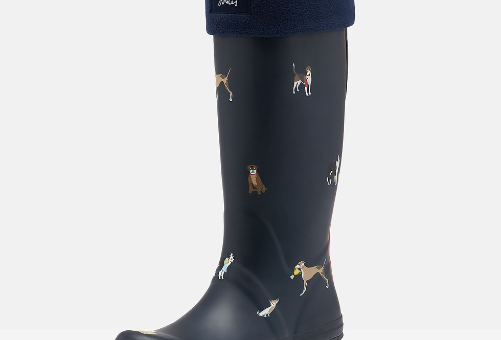 Joules Welton Welly Socks French Navy