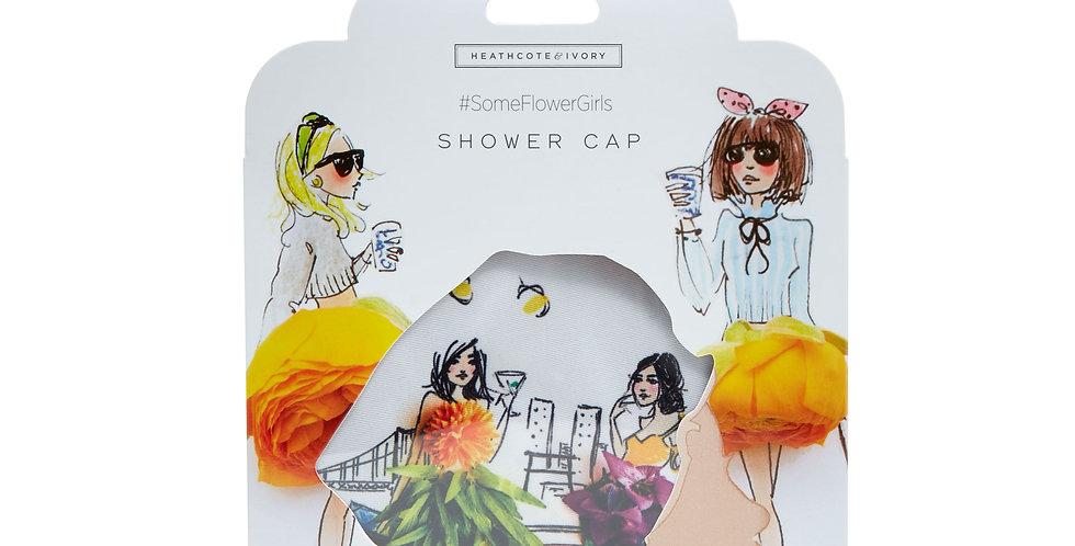 Heathcote & Ivory #Some Flowergirls Shower Cap