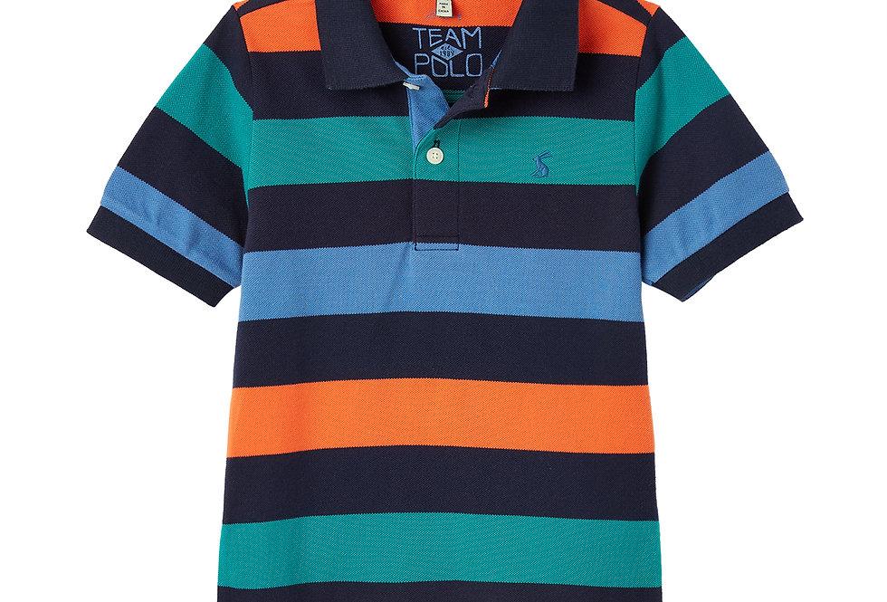 Joules Filbert Striped Polo Shirt