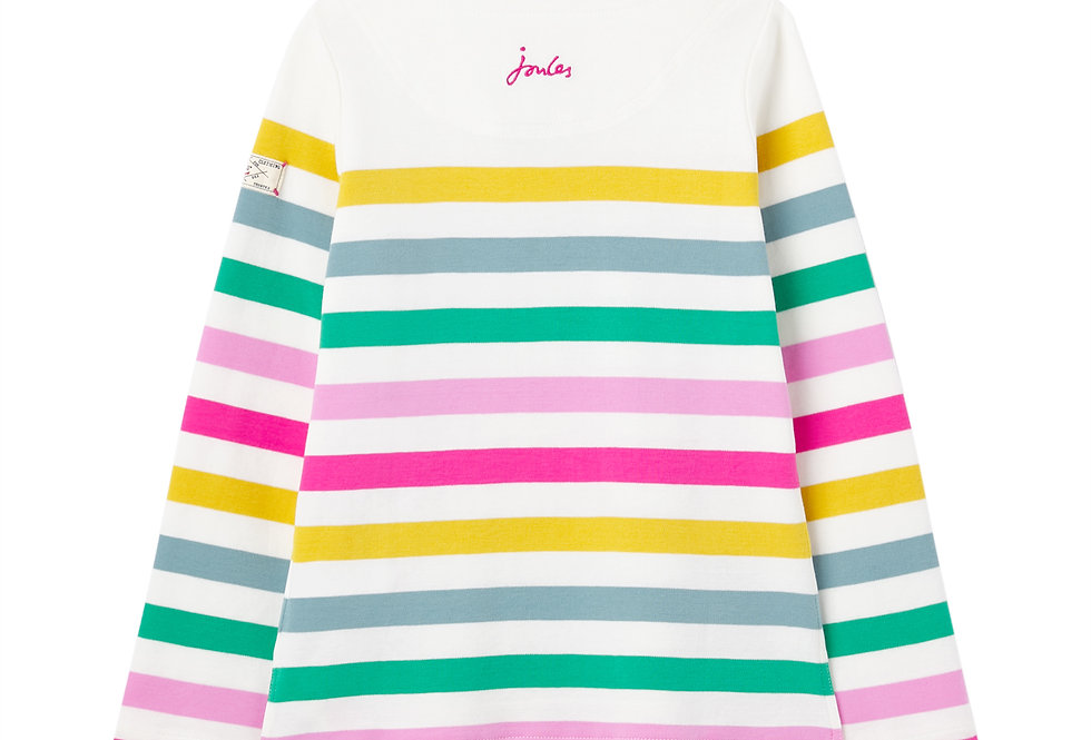 Joules Harbour Print Multi Stripe