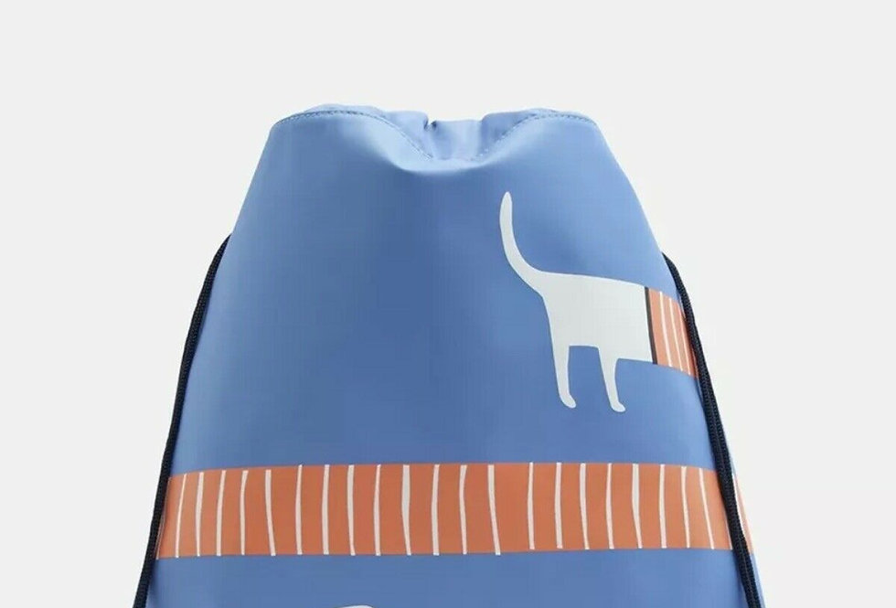 Joules Active Bag Blue Sausage Dog