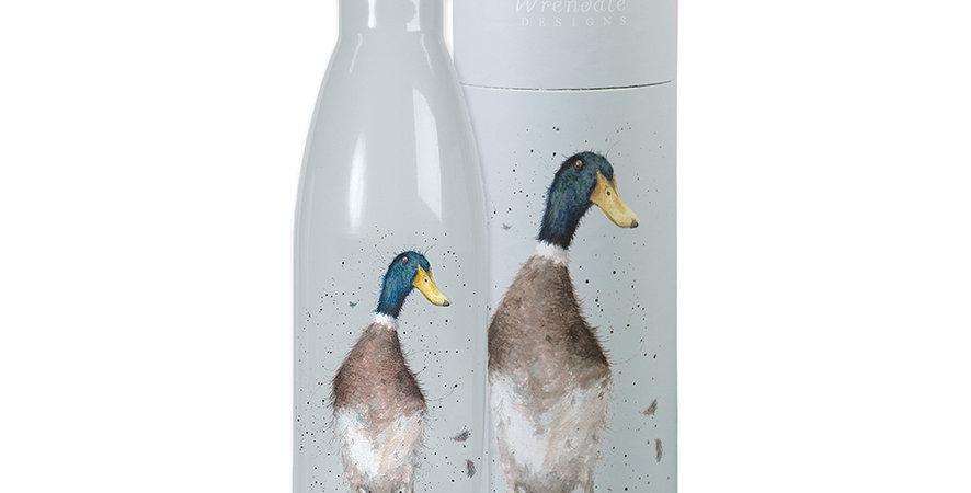 Wrendale Water Bottle Duck Design
