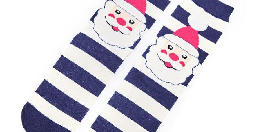 Mr Heron Santa Face Socks