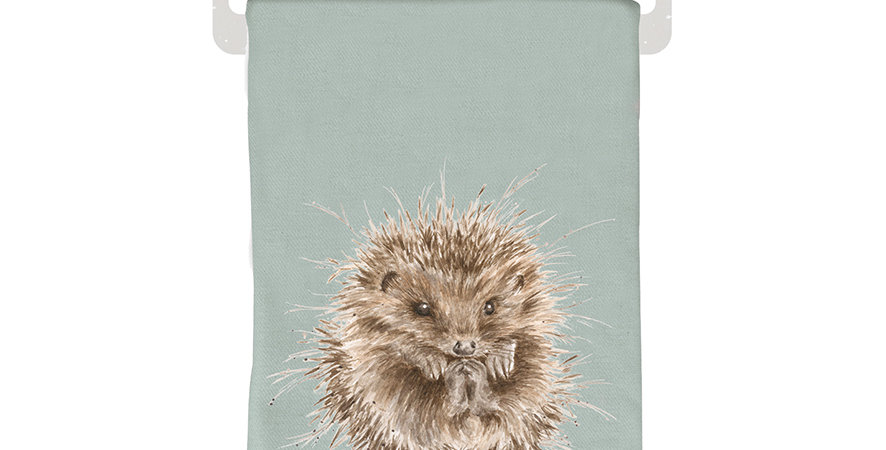 Wrendale Winter Scarf Hedgehog design