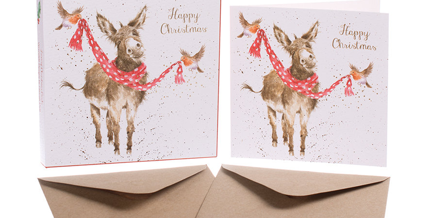 Wrendale All Wrapped up for Christmas Card Boxed Set