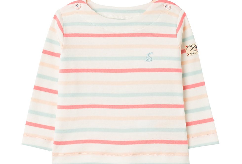Joules Harbour Pink Blue Stripe