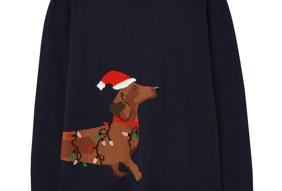Joules Intarsia Christmas Jumper