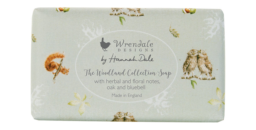 Wrendale  Woodland  Collection Soap 190g