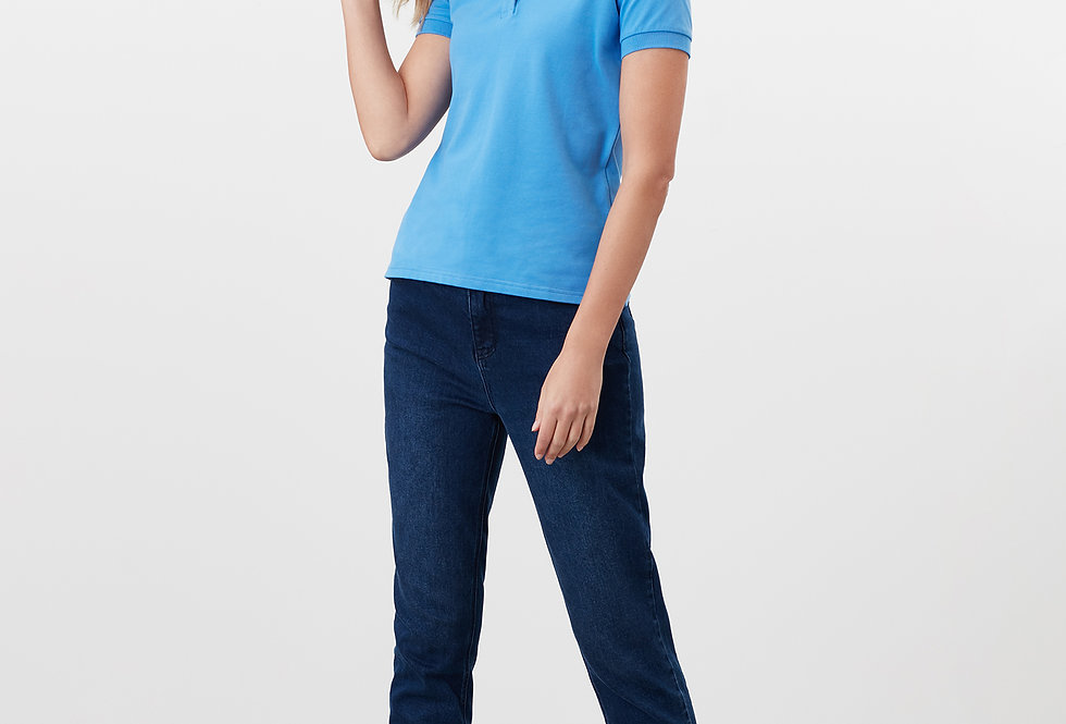 Joules Pippa Blue  Polo Shirt