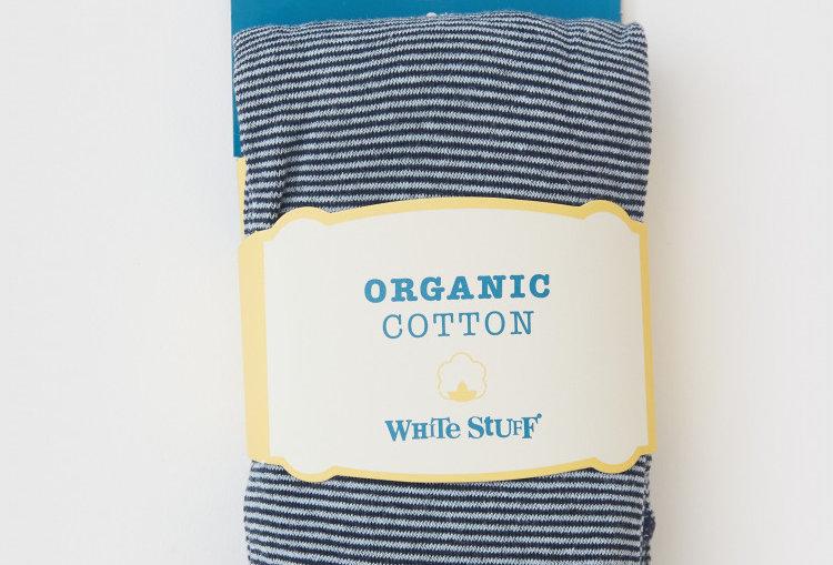 White Stuff Fine Stripe Tights