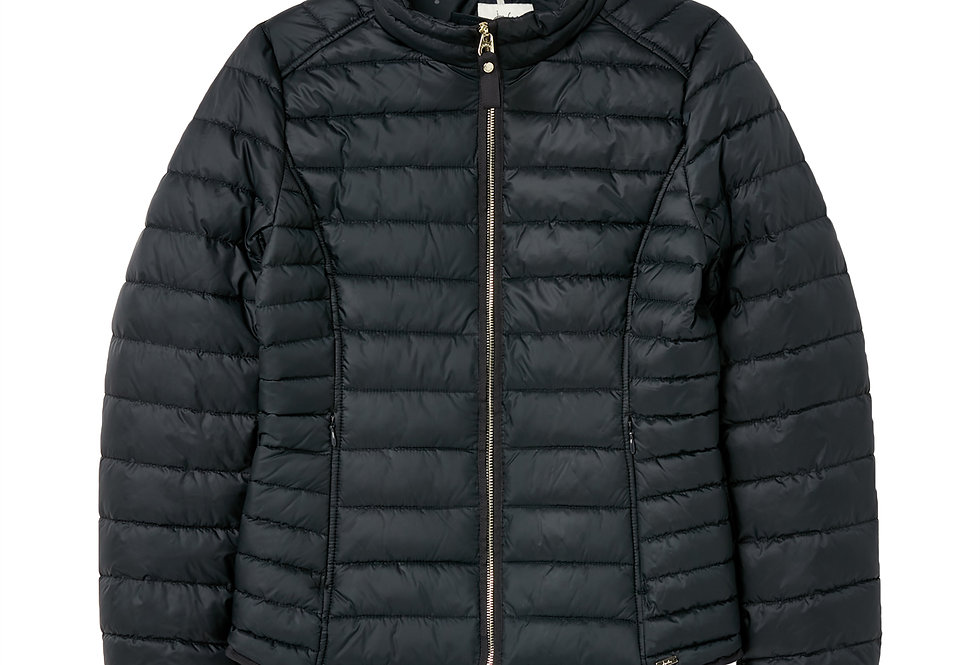 Joules  Canterbury Short Luxe Padded Navy Jacket