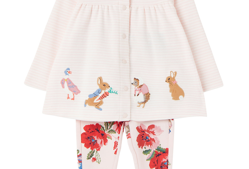 Joules Jemima  Peter Rabbit Two Piece Set