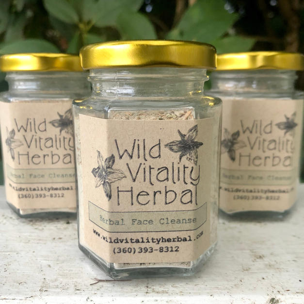 Herbal Face Cleanse