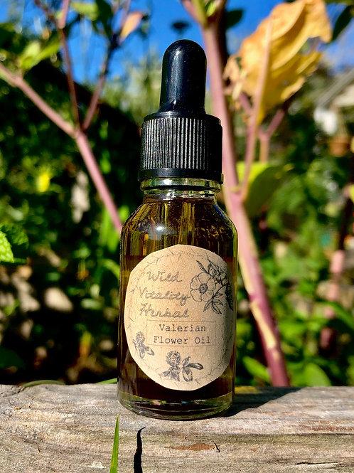 Valerian flower oil