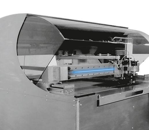 Máquina de corte por agua con sistema lineal Franke