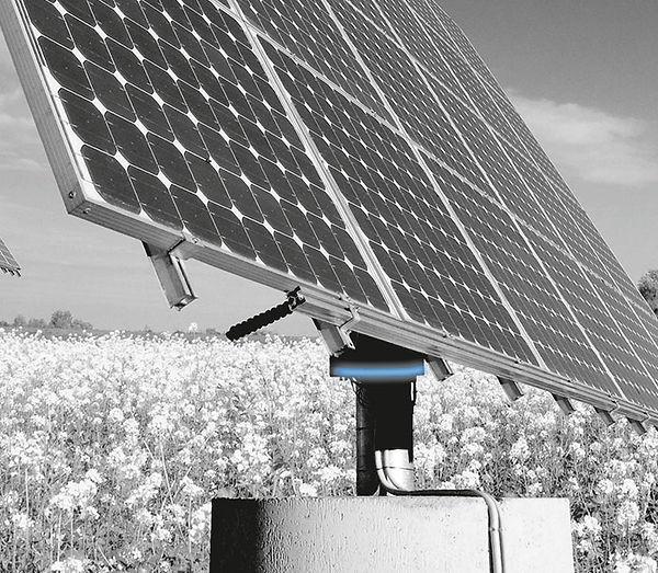 Seguidor solar con rodamiento Franke