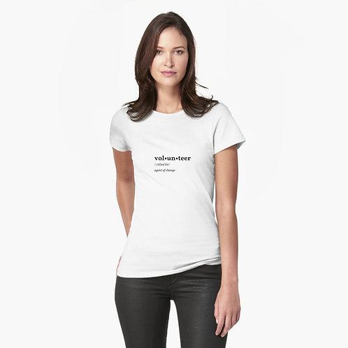 Volunteer Half :Sleeve T-shirt