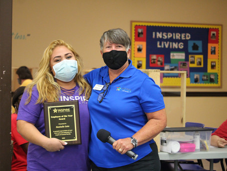 Operation Grow Coordinator, Nashalie Soto, Named Inspire Employee of the Year 2020
