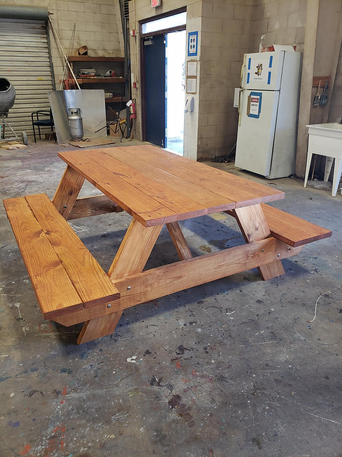 Hand Made Picnic Table