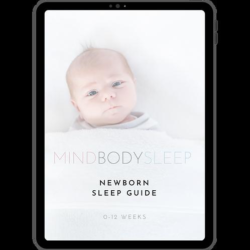 Newborn Sleep Guide (0-12 Weeks)