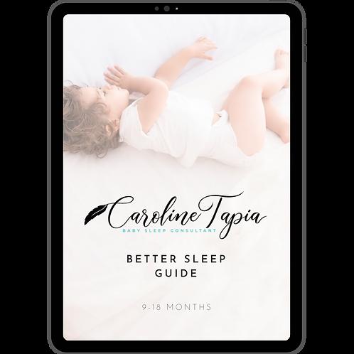 Better Sleep Guide (9-18 months)