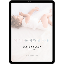 Better Sleep Guide (4-8 months) i-Pad v2