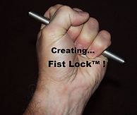 "Titanium Yawara Stick with ""Fist Lock"" by Ti Rod Tactical"