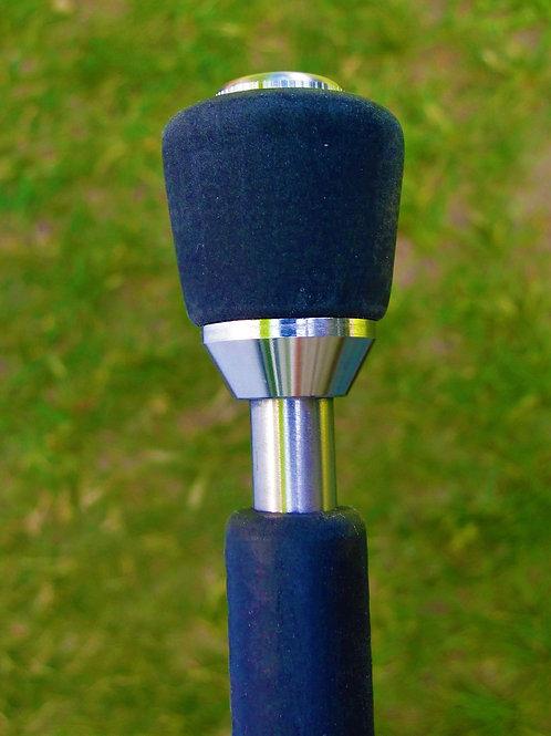 """Titanium .445"""" Diameter Tactical Walking Stick"""
