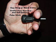 Titanium Key Ring Self Defense Stick by Ti Rod Tactical