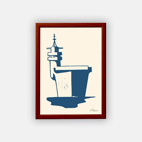 Gravure | Porte-avions 1947 | Classique | 21 x 29,7 cm