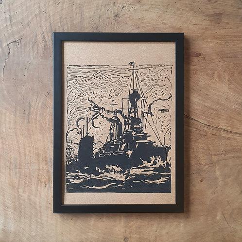 La Flotte Française | kraft | 21 x 29,7 cm