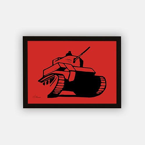Gravure | Char 1945 | 21 x 29,7 cm