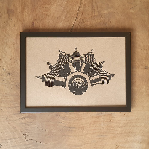 Moteur R-E-P | kraft | 21 x 29,7 cm
