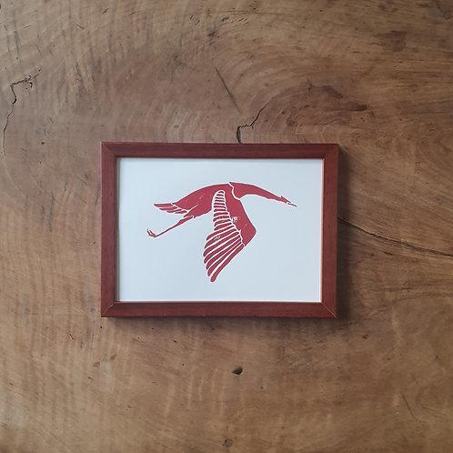 Cigogne de Guynemer | Classique | 14,8 x 21 cm