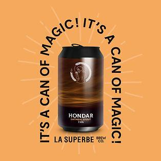 HONDAR La Superbe Brewing Company