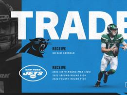 Jets trade QB Sam Darnold to the Carolina Panthers