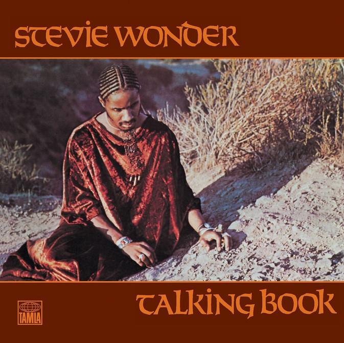 Stevie Wonder Talking Book Album Cover Photo by Robert Margouleff