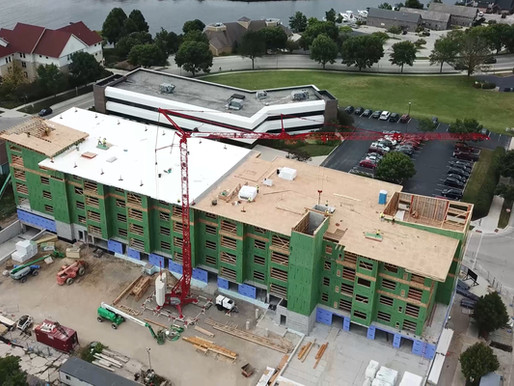 Quasius Construction finds perfect jobsite solution with Potain self-erecting tower crane