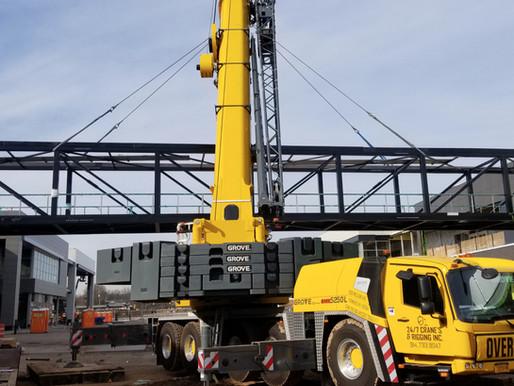 24/7 Lifting hace honor a su nombre gracias a la confiabilidad de la Grove GMK5250L