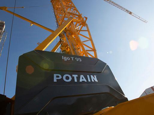 Fünf Gründe für Effizienzsteigerungen mit dem neuen Potain Igo T 99