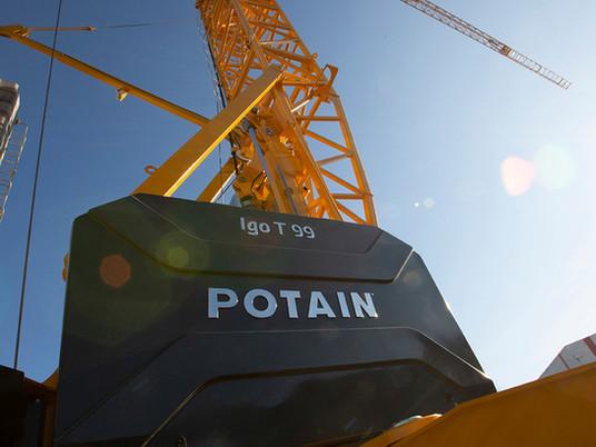 Cinq arguments pour augmenter la productivité avec la nouvelle Potain Igo T 99