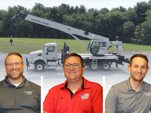 Meet the team and inspiration behind National Crane's new boom trucks