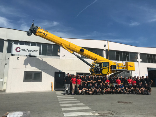 Closer to the customer – Why Manitowoc started Grove rough-terrain crane production in Italy