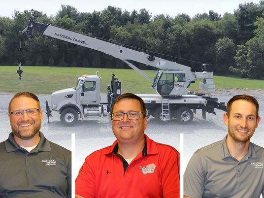 Découvrez l'équipe et l'inspiration à l'origine des nouveaux camions-grues de National Crane