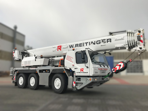 GMK3050-2 überzeugt österreichische W. Reitinger GmbH zum Kauf von erstem Grove Mobilkran