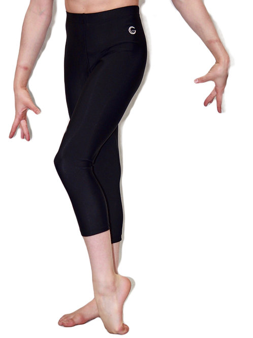 Gymnastic Leggings Matt Black