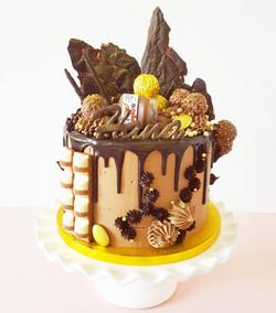 Chocolate Nutella Cake