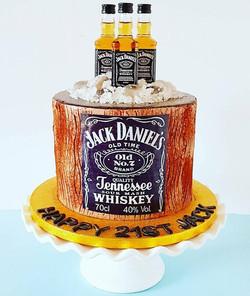 Chocolate Jack Daniel's Cake
