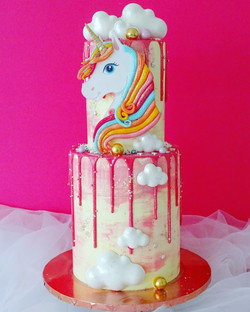 Two tier Unicorn and Clouds